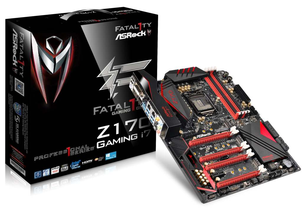 AsRock Fatal1ty Z170 Professional Gaming i7