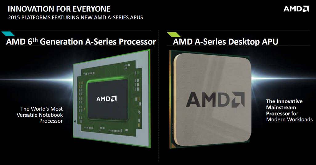 AMD APU 6th gen Carizo