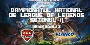 ACL Romania va invita la finala campionatului national de League of Legends