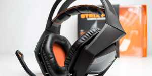 Casti gaming ASUS Strix Pro review - O bufnita masiva