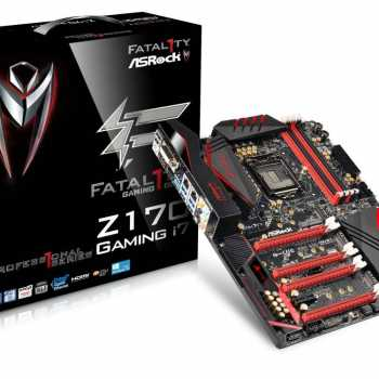ASRock lansează placa Fatal1ty Z170 Professional Gaming i7