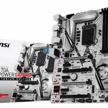 MSI Z170 XPower Gaming Titanium Edition preview