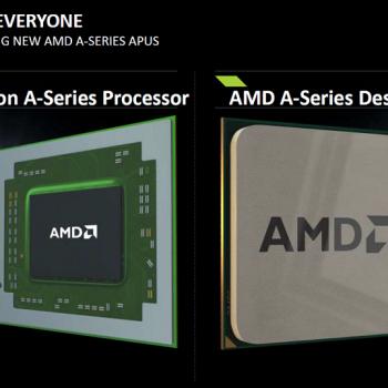 AMD a anunțat astăzi noua gamă de APU-uri A-Series