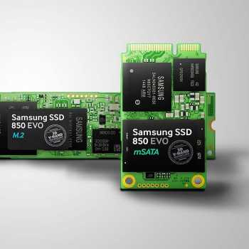 Samsung a lansat SSD-urile 850 EVO M.2 și 850 EVO mSATA
