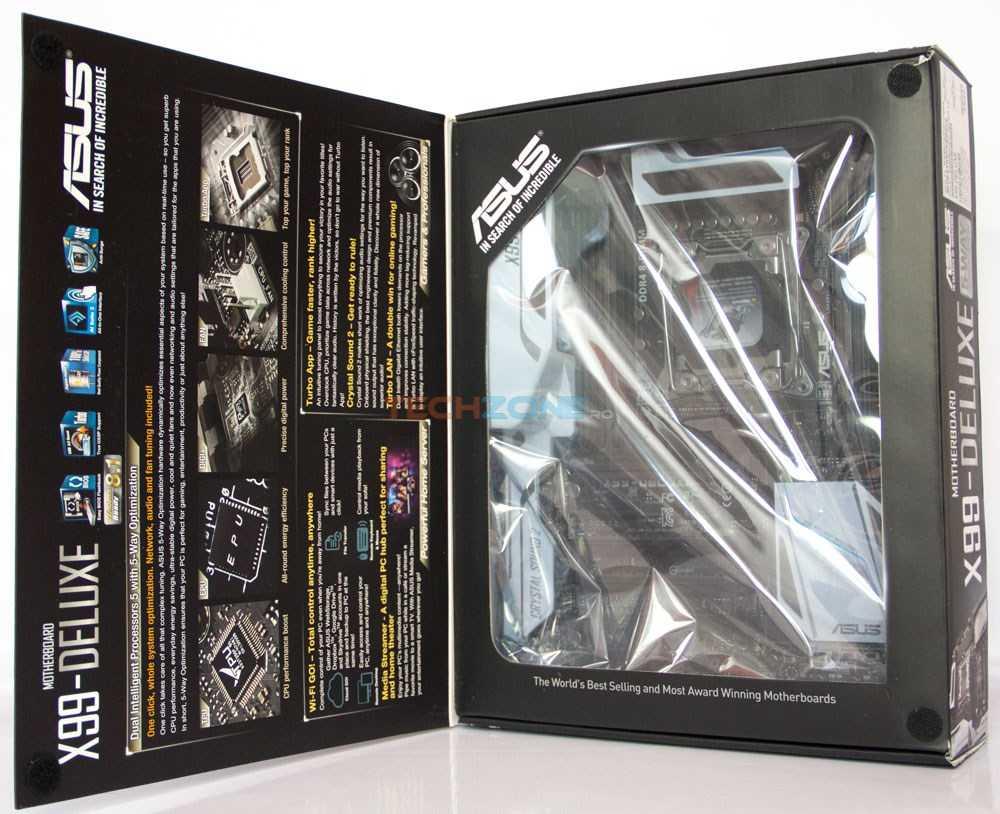 Asus X99-Deluxe set
