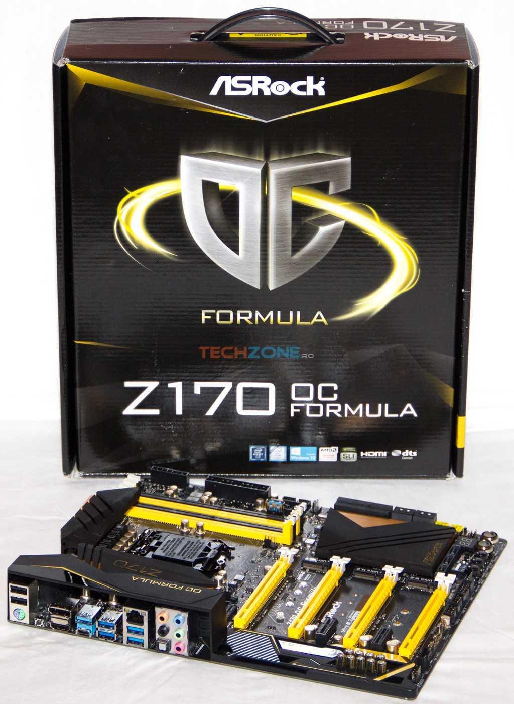 ASRock Z170 OC Formula set
