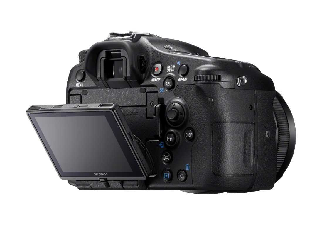 Sony A77 II back
