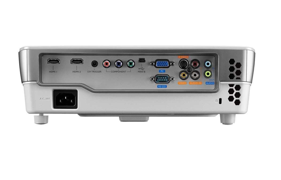 BenQ W1080ST interfete