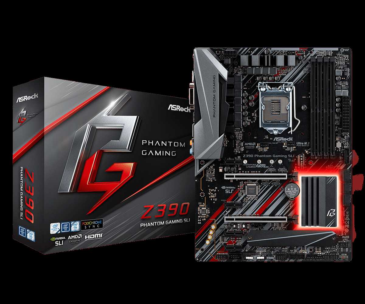 ASRock Z390 Phantom Gaming SLI set