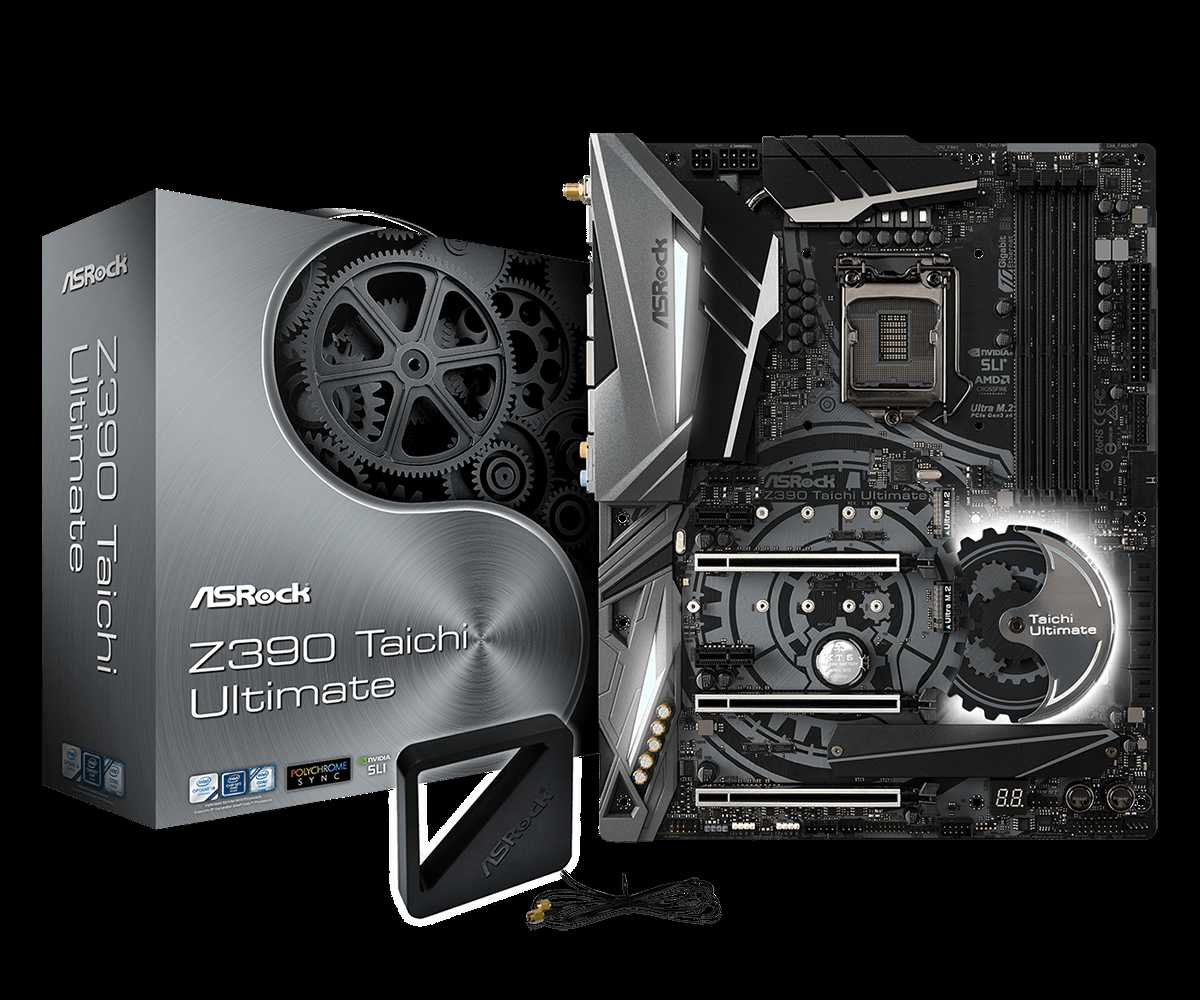 ASRock Z390 Taichi Ultimate set