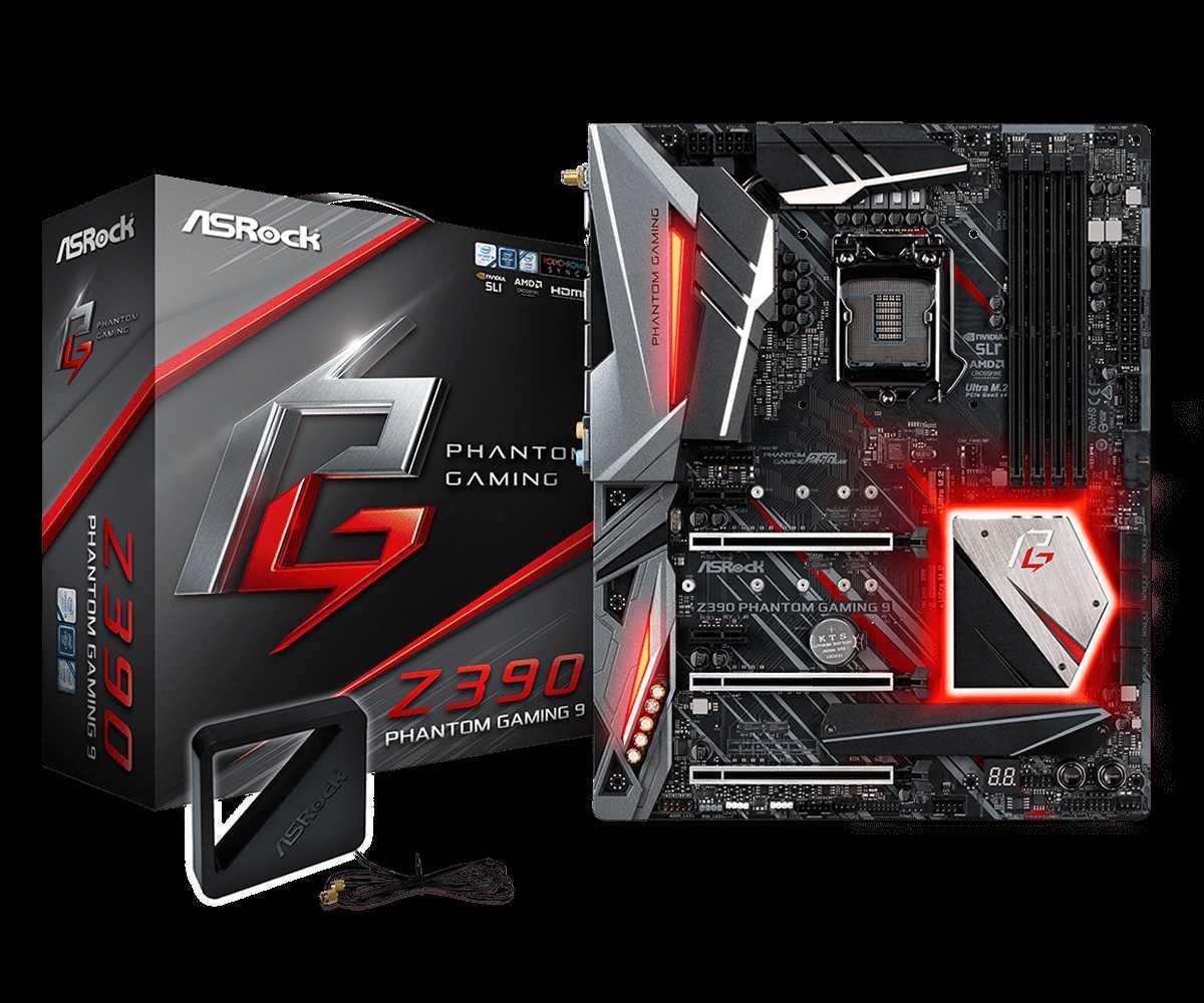 Z390 Phantom Gaming 9 set