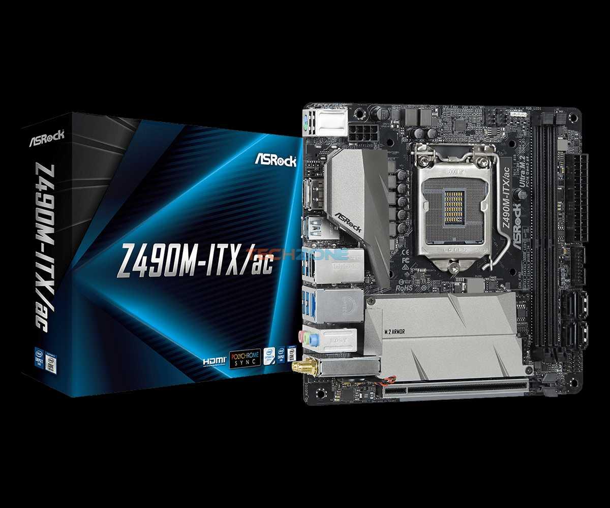 ASRock Z490M ITX set