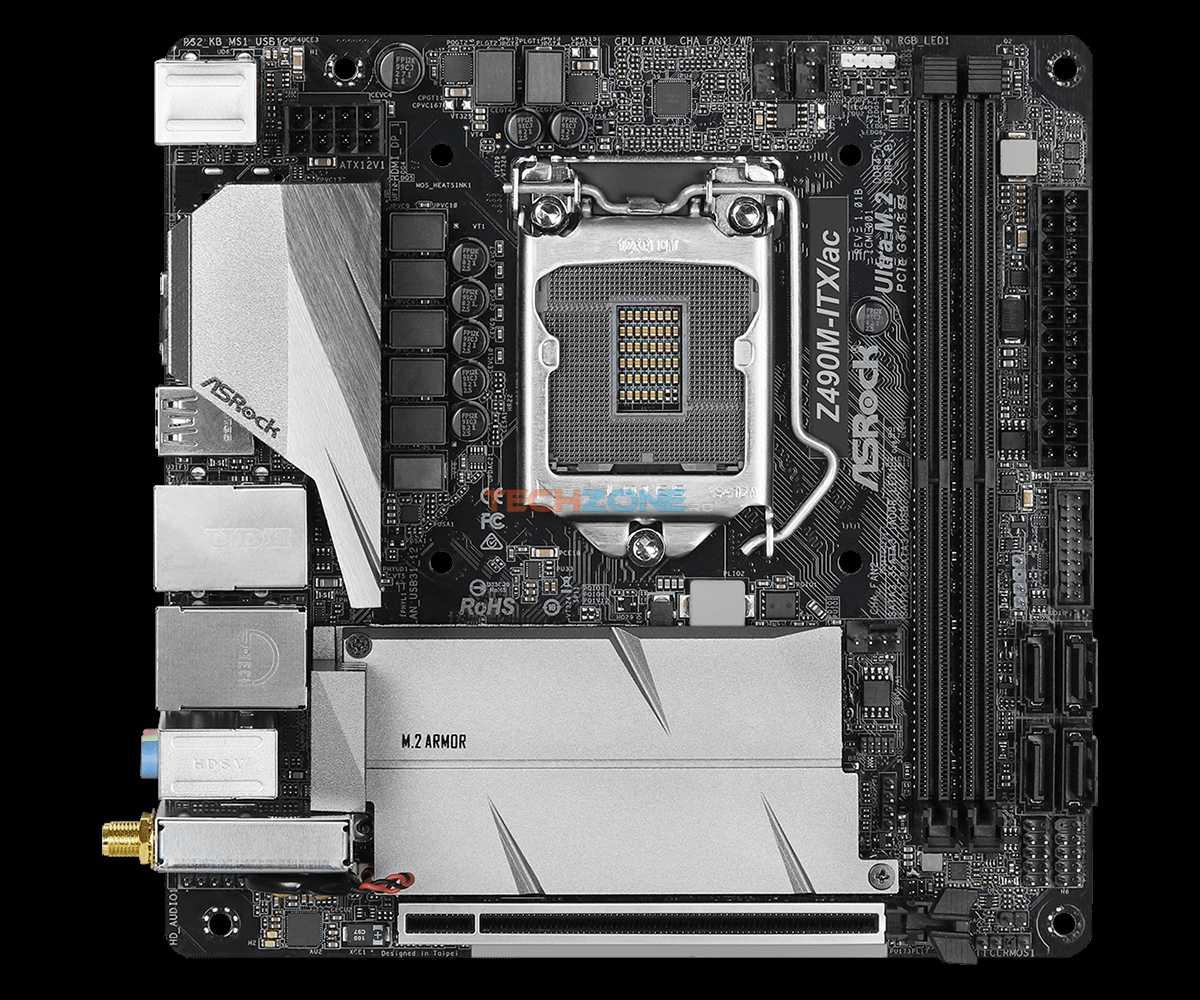 ASRock Z490M ITX