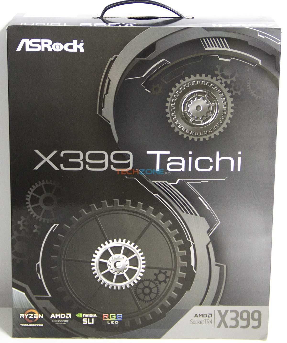 ASRock X399 Taichi set