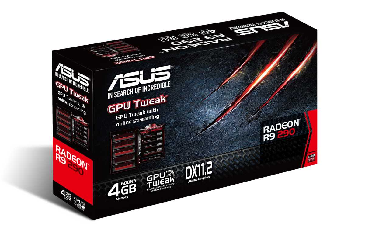 Asus Radeon R9 290 box