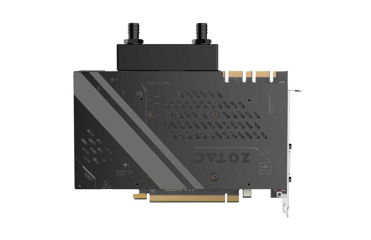 Zotac GTX 1080Ti ArcticStorm Mini backplate
