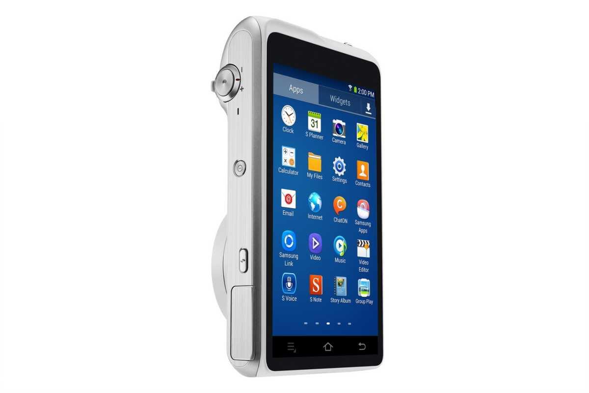 Samsung Galaxy Camera 2 display