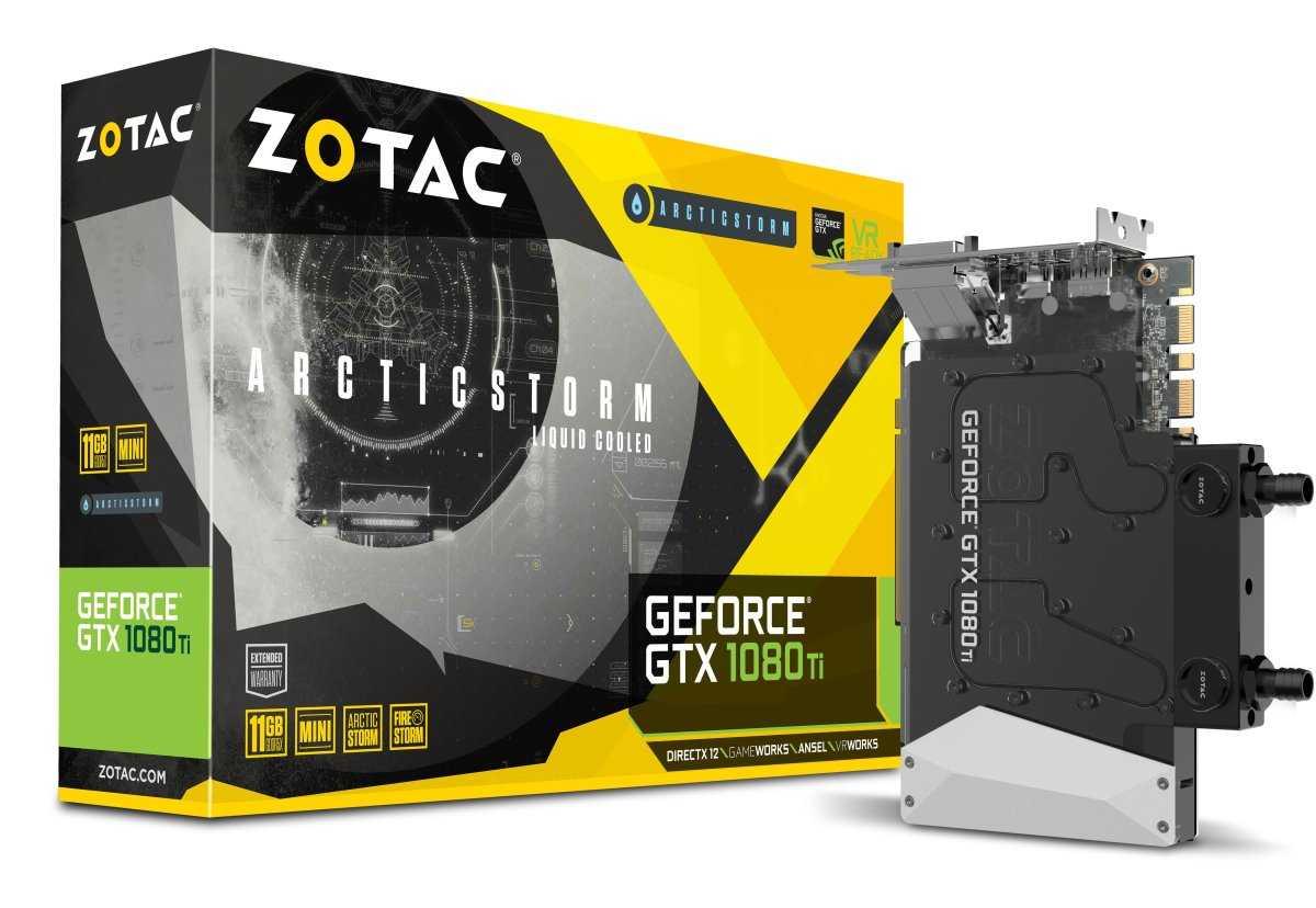 Zotac GTX 1080Ti ArcticStorm Mini set