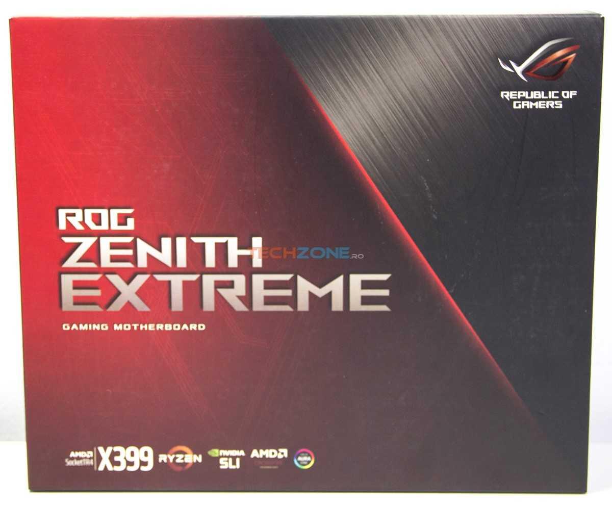 Asus Zenith Extreme set
