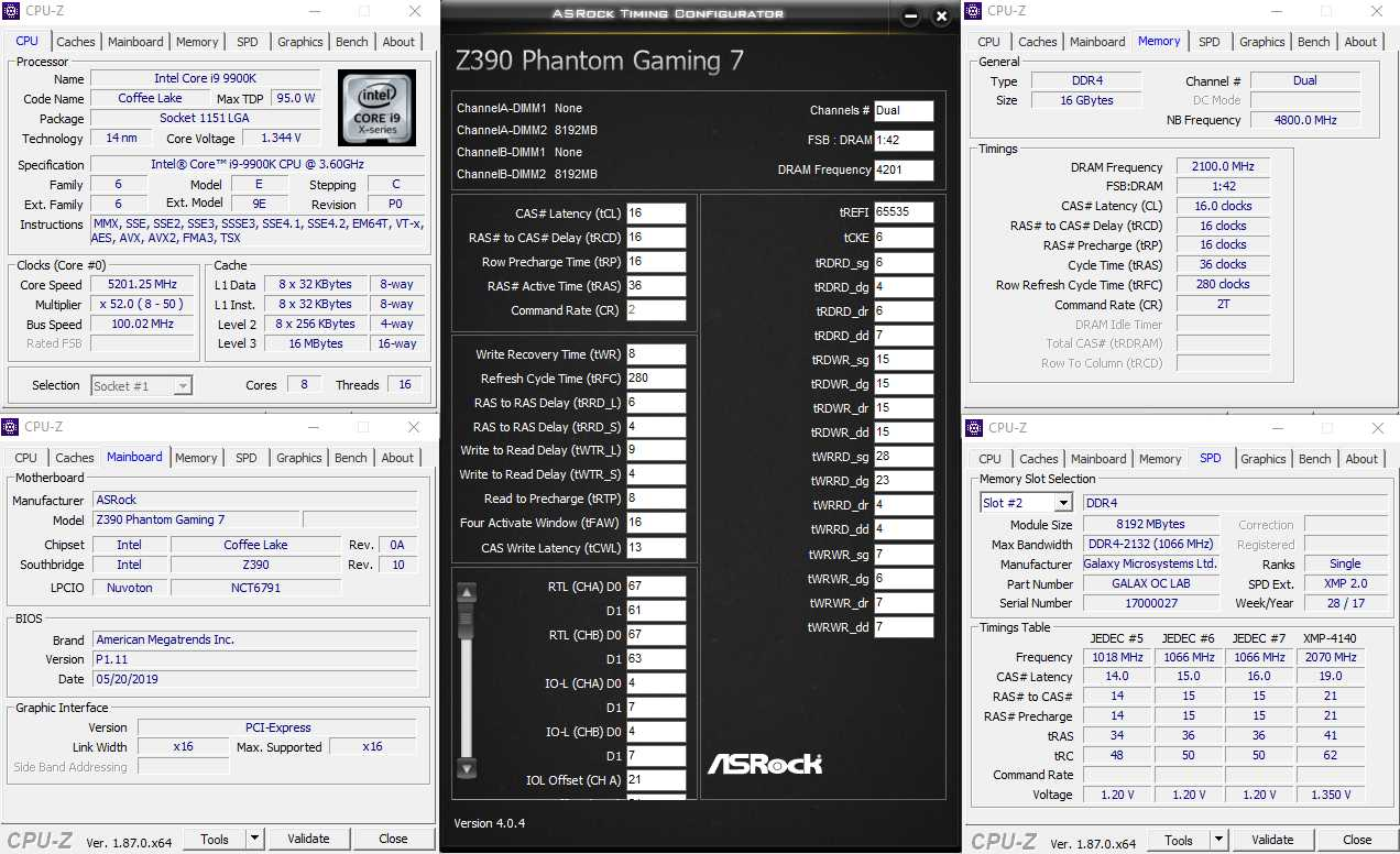 ASRock Z390 Phantom Gaming7 OC