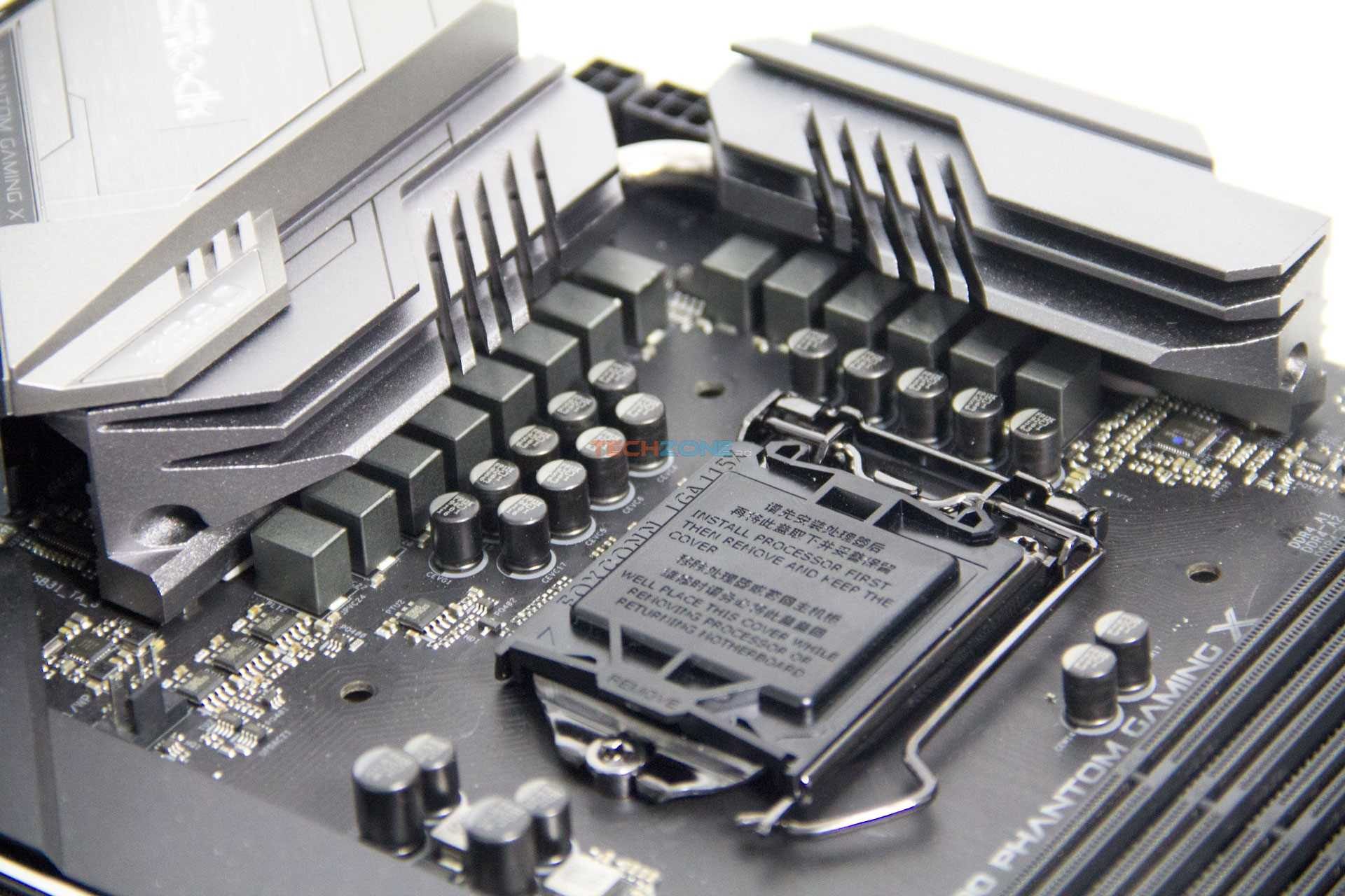ASRock Z390 Phantom Gaming X VRM