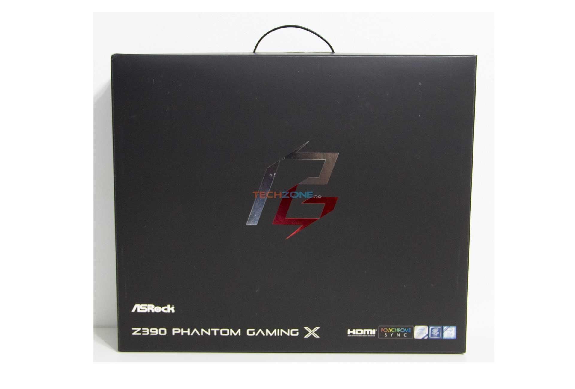 ASRock Z390 Phantom Gaming X set