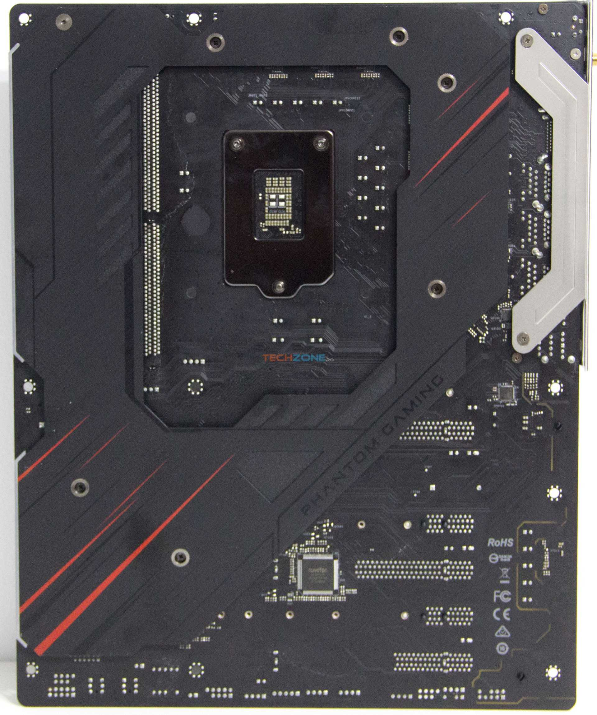ASRock Z390 Phantom Gaming X back
