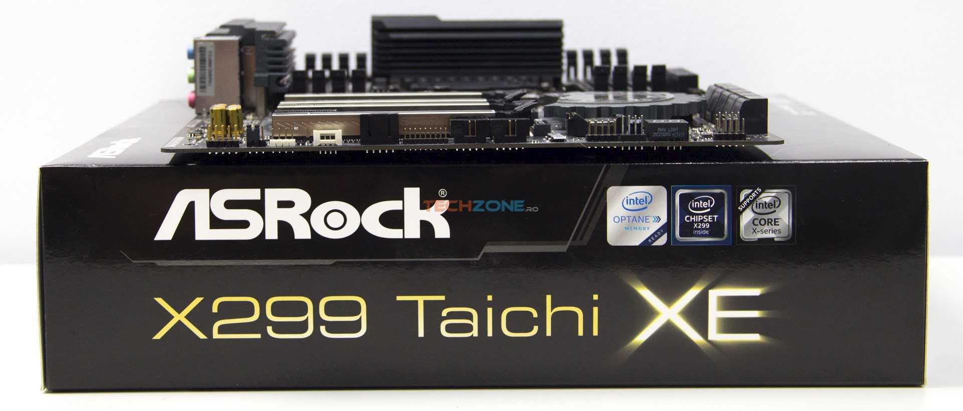 ASRock X299 Taichi XE set