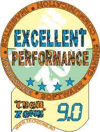 excellent performance 9.0
