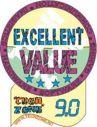 excellent value 9.0