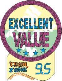 excellent value 9.5