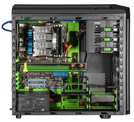Sharkoon-Tauron-verde-cu-hardware