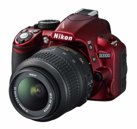 Nikon D3100 Rosu