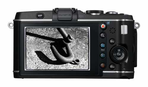 Olympus E-P3 ecran
