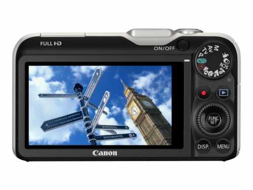 Canon PowerShot SX230 HS display