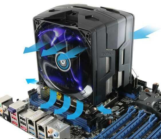 Sapphire-Vapor-X-CPU-instalat