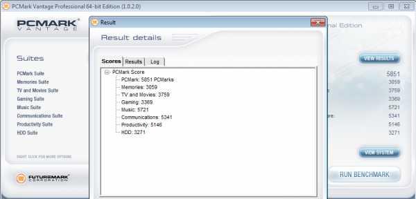 PCMark Aspire 5741G