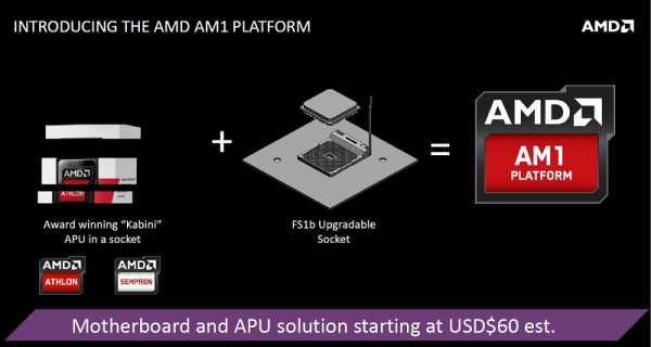 AMD Kabini FS1b