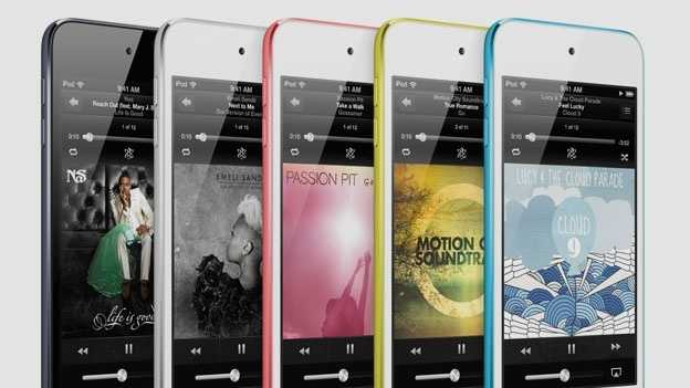 iPod Touch colours