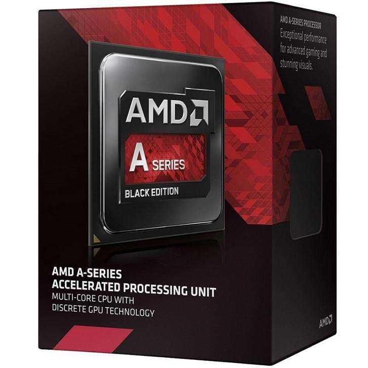 AMD A8 7650k box