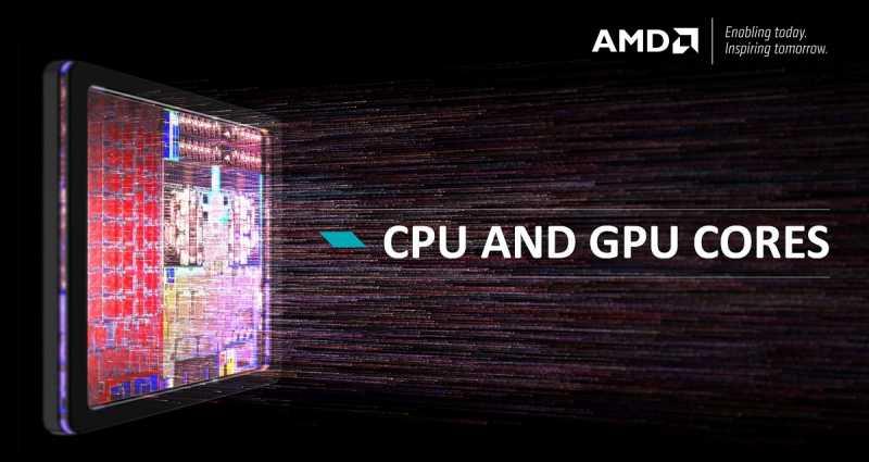 AMD CPU and GPU Cores