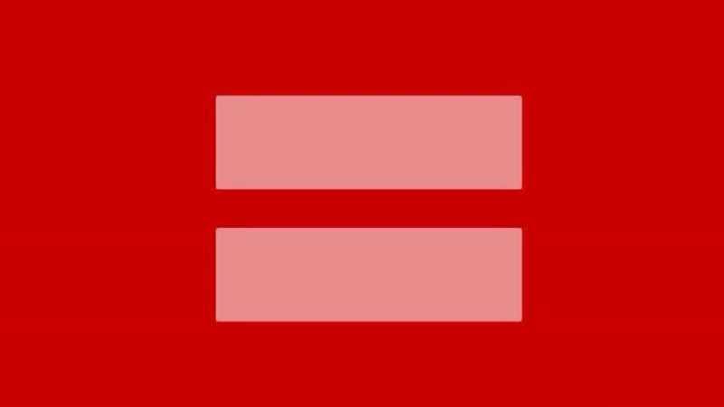 Facebook s-a inrosit pentru a sustine mariajul persoanelor de acelasi sex