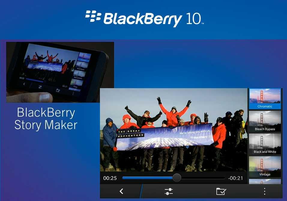 BlackBerry-Story-Maker