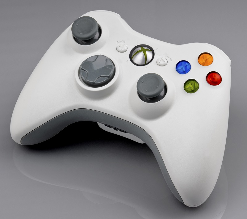 Xbox 360 - White Wireless Controller