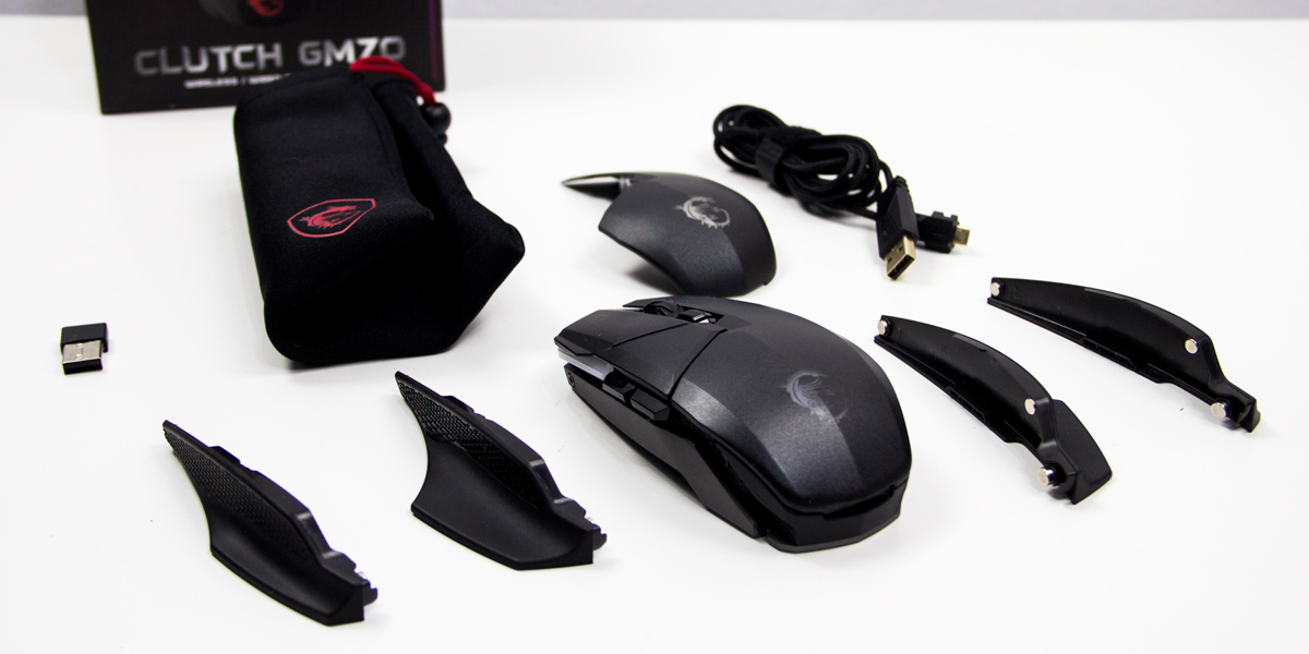 MSI Clutch GM70 Product Image