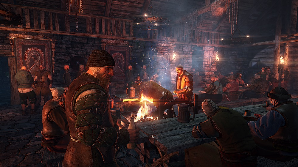 The Witcher 3 Wild Hunt Tavern Interior