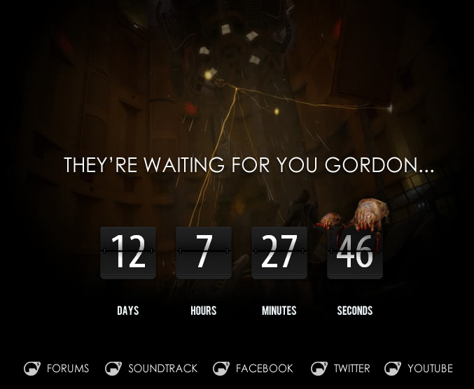 They are waiting for you Gordon