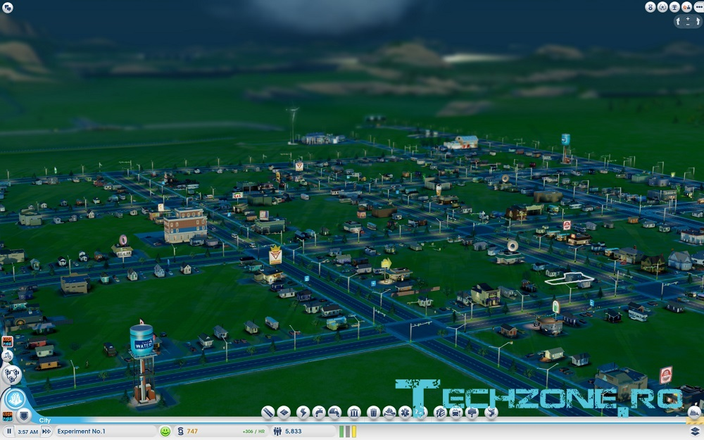 SimCity - Experiment