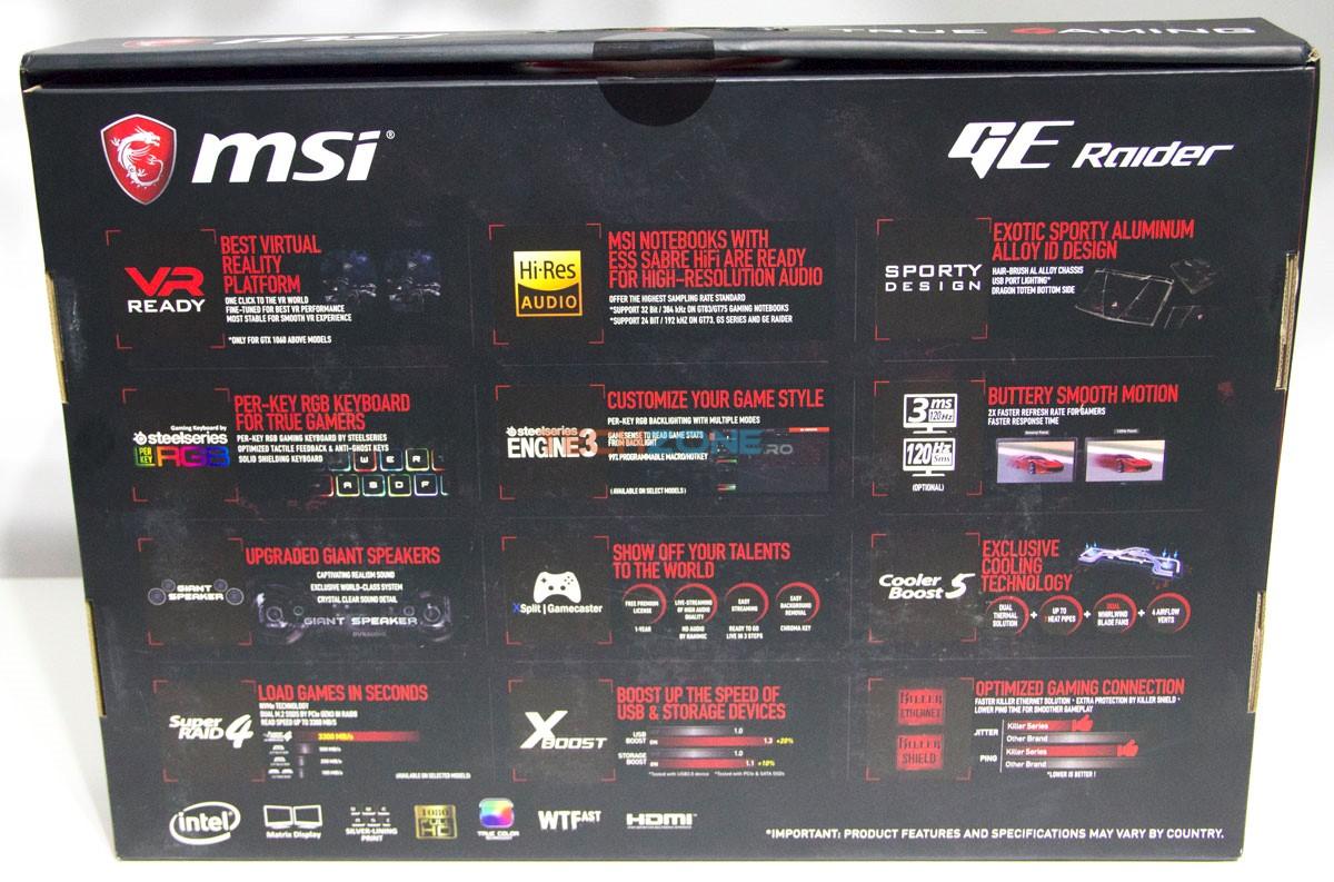 MSI GE73VR box back