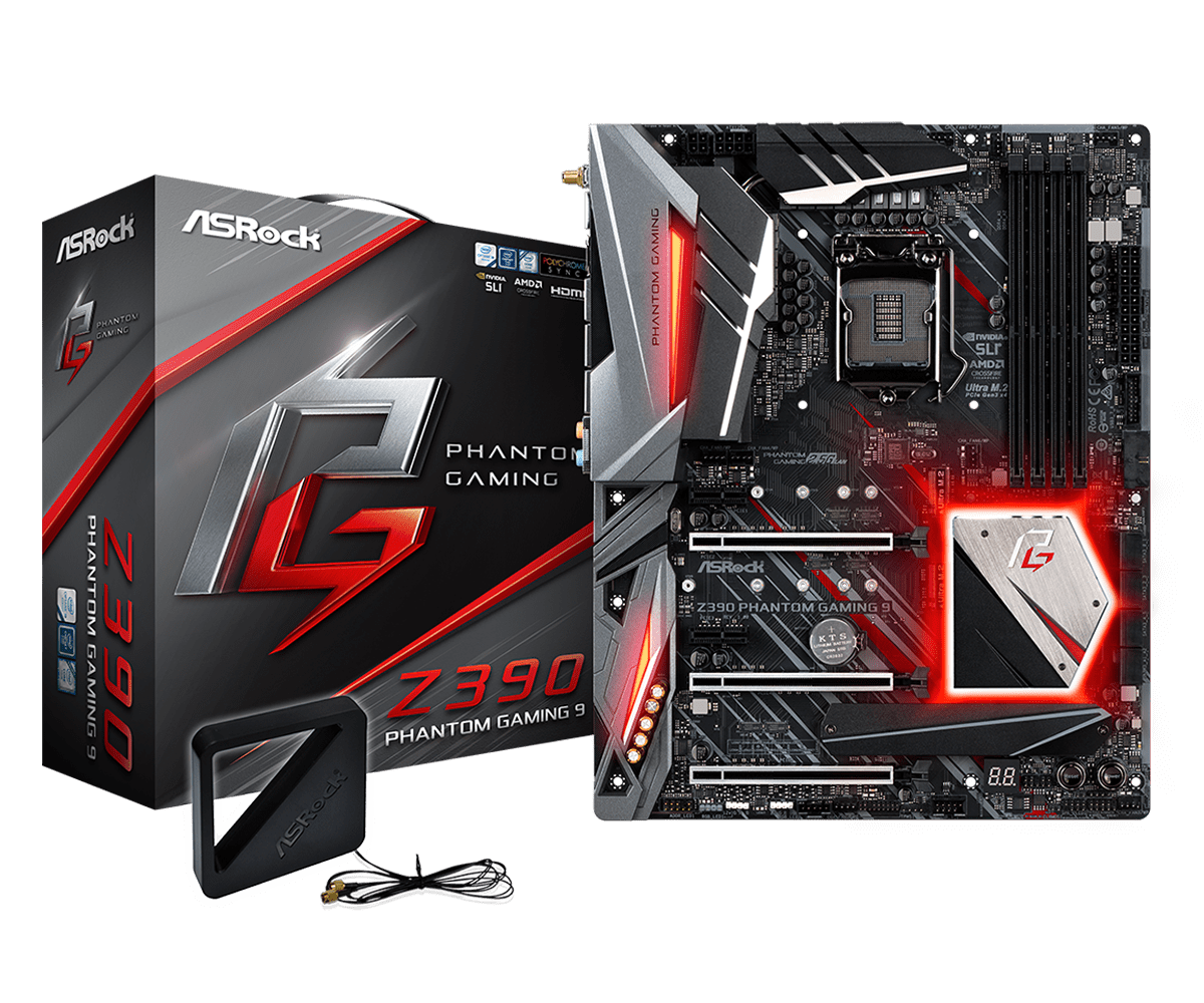 Z390 Phantom Gaming 9 set